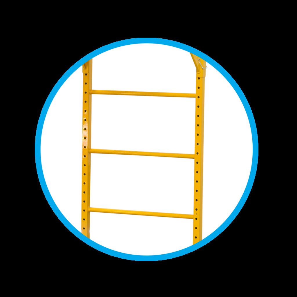 escalera - andamio - multiuso - certificado
