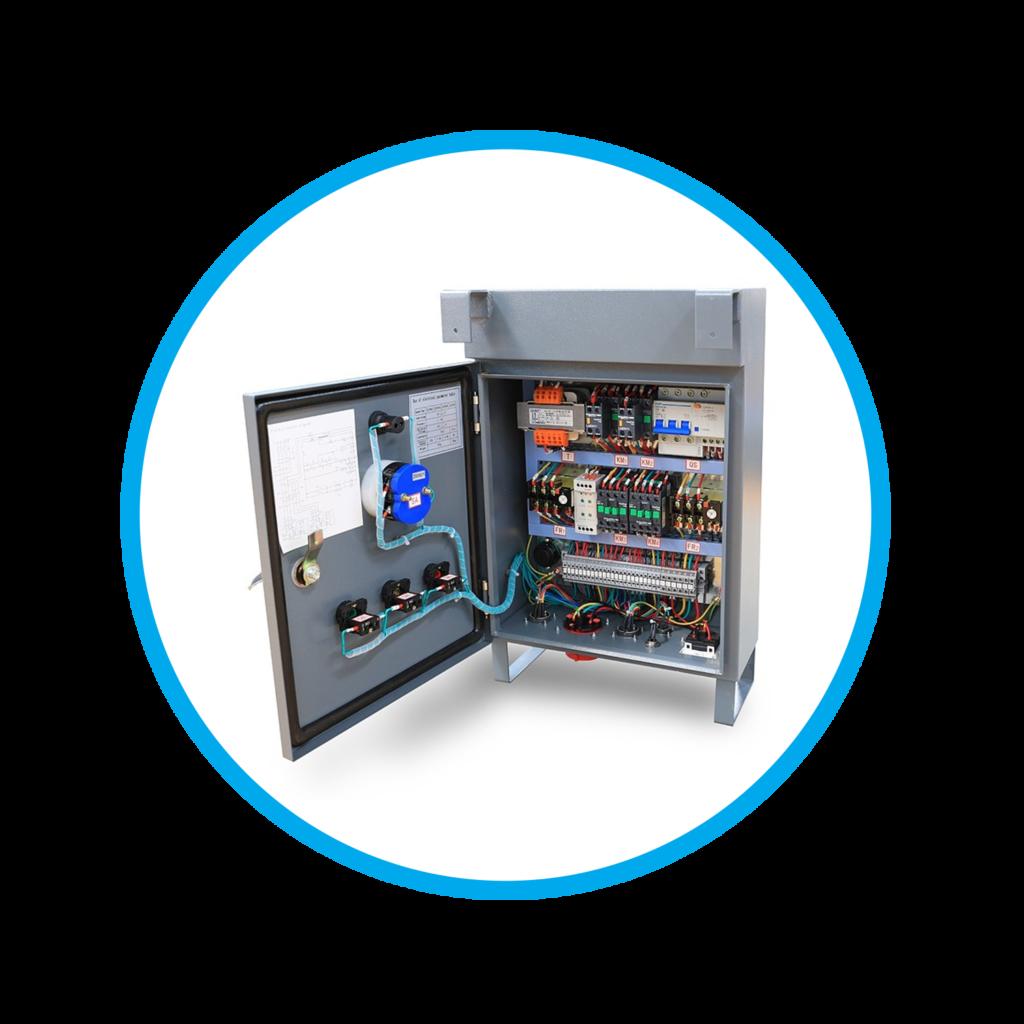 panel-andamio-colgante-eléctrico
