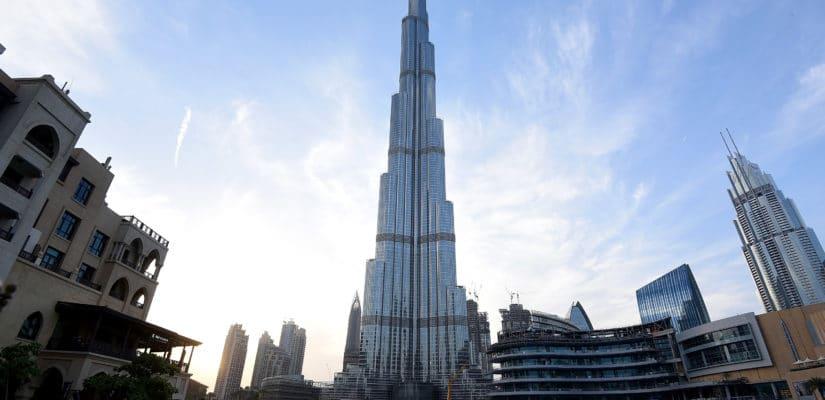 Foto del edificio Burj Khalifa en Dubai